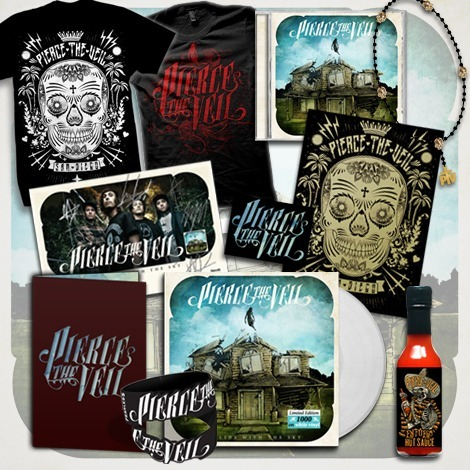 check out the Pierce The Veil - Mega Bundle http://piercetheveil.merchnow.com/products/143418
