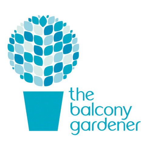 The Balcony Gardener Logo. (Created by Chloe Dunne Design)