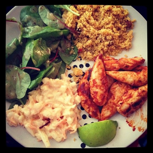 Homemade nandos!  (Taken with Instagram)