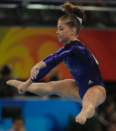 So its official my favorite gymnast EVER Shawn johnson is now retired and is NOT going to the olympics……I am upset. who is with me on this one???