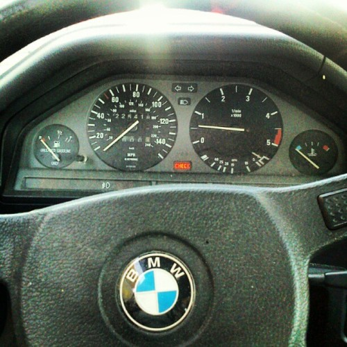 Instrument panel of my beater. No idea why I took this  (Taken with Instagram)