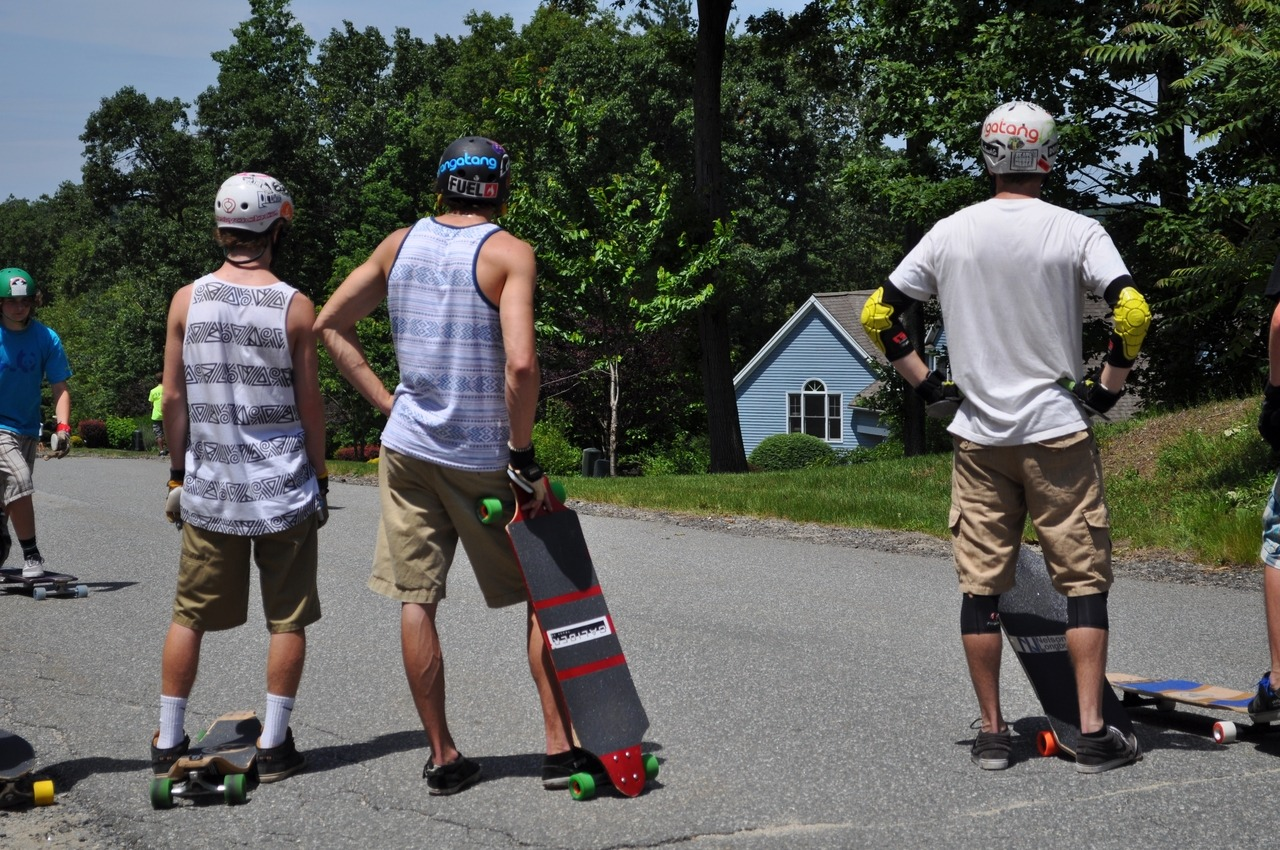 Pre-Run. Longboard for Life, Boxford MA. Photo by Lucia Bisalti. -MG