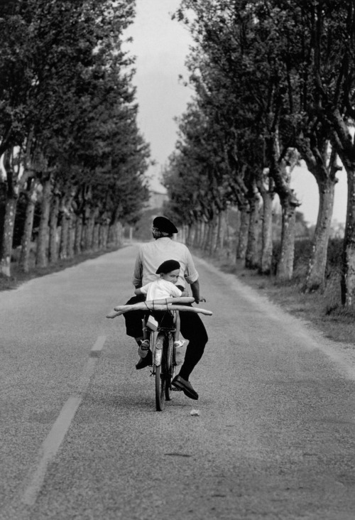 "jumblepusher:  Elliott Erwitt. ""Untitled"". 1955. Provence, France."