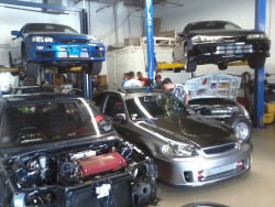 ILL Garage One of the best local tunning garage there is located in our Chicago area. We enjoy their amazing projects based on turbo :) there great on what they do best