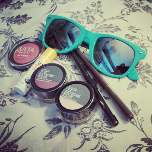 I love Ulta. New sunglasses to match my bike <3  (Taken with Instagram)