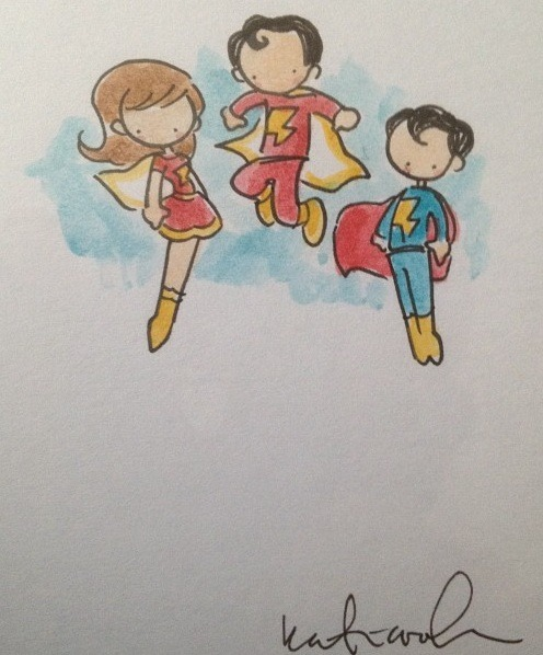The Marvel Family by Katie Cook!