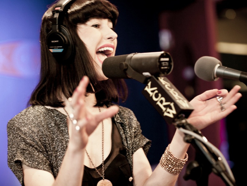 "Cause nprmusic said so!!!!!:  Watch Kimbra perform ""Come Into My Head"" for KCRW's Morning Becomes Eclectic."