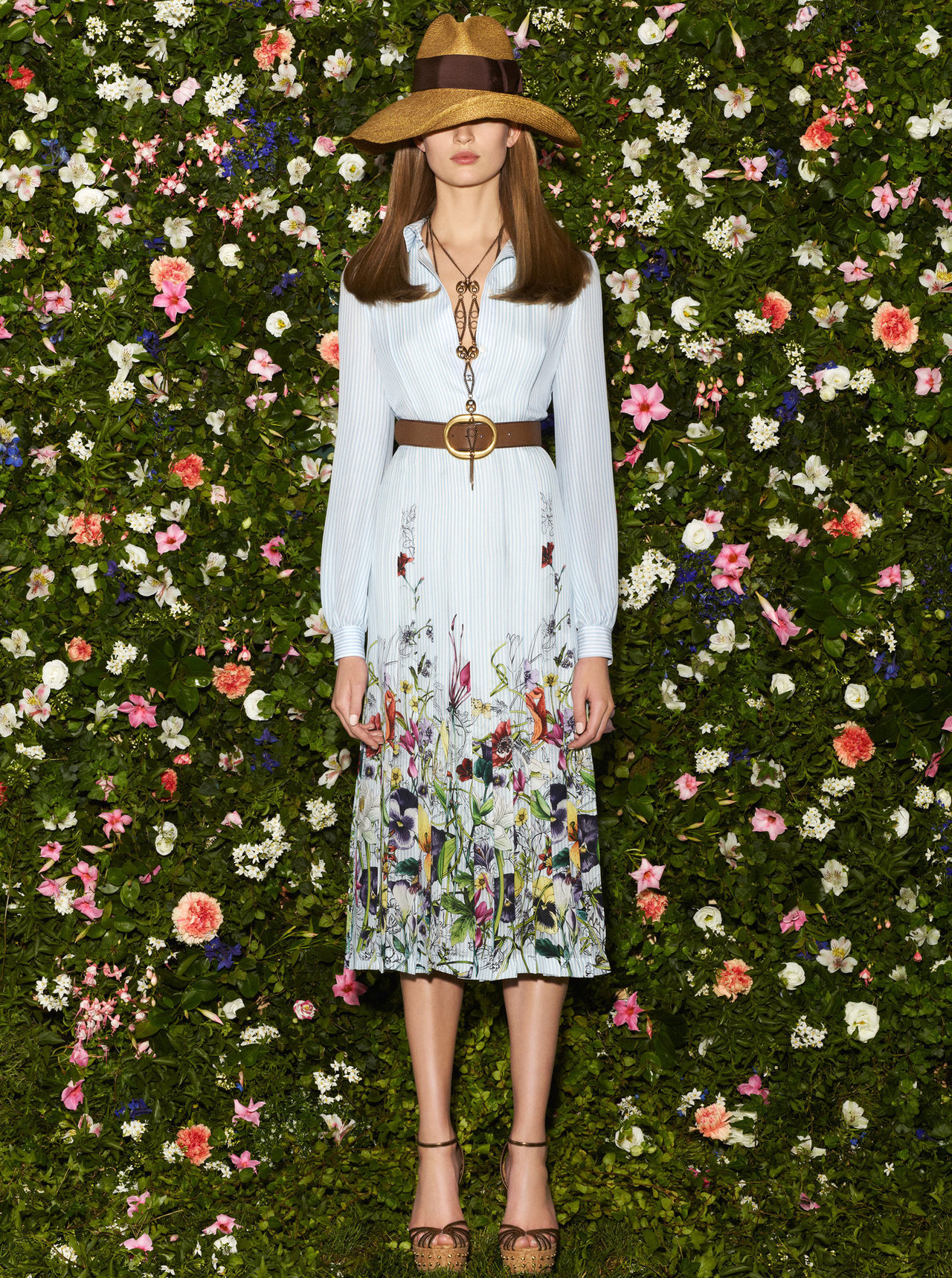 Florals at Gucci.