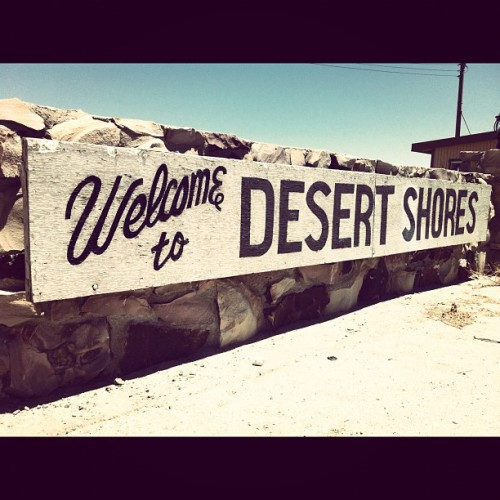 #desert #shore #saltonsea (Taken with Instagram at Desert Shores)