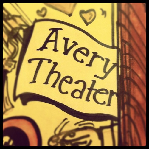 Such a good name for a theatre (Taken with Instagram)