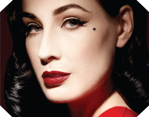 Dita Von Teese finally launches the makeup line we've all been waiting for!