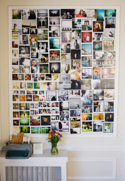 pinturinha:  the photo wall (by *Cinnamon)