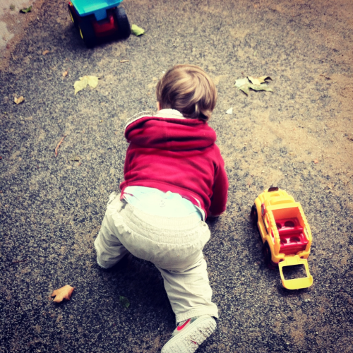 andellasaid:  Sometimes, the kid falls down. He falls down a lot, actually. A few times a day. He's a kid. He's going to fall. But whenever he falls, I clap until he gets back up, and then I go wild and cheer. If I don't, he focuses on the fall. If I don't he cries. When I clap, he's distracted and he's happy and he forgets about falling and failing and he gets back up and he walks some more like it never even happened. So you fell. Congratulations, good for you, you stumbled and lost your footing and fell. You only ever suffer when you stay down. Get back up. Cheer. Go on with your day.