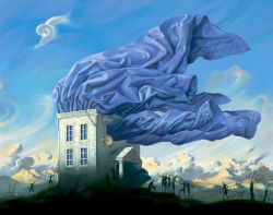 Panel from Metaphorical Journey Vladimir Kush