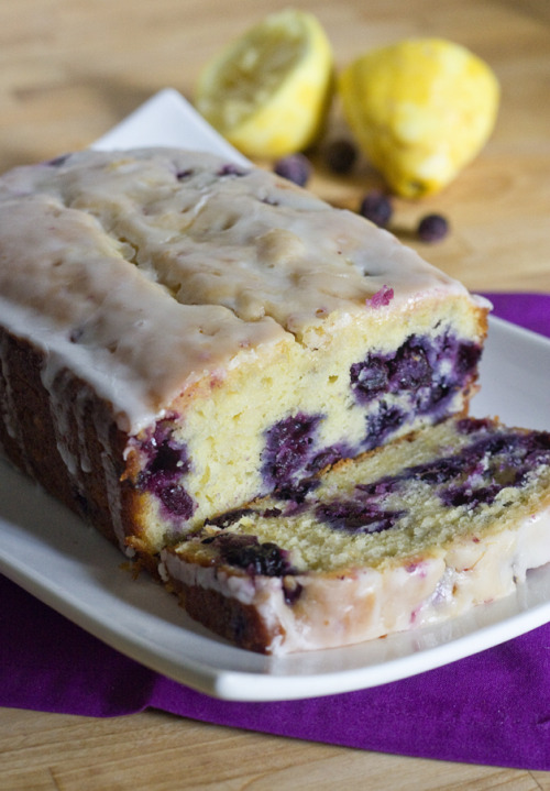 thecakebar:  Lemon Blueberry Bread