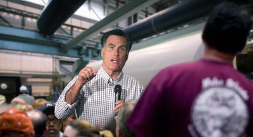 "theonion:  Romney Spends Most Of Factory Visit Yelling At Employees To Work Harder  ""Now, someone like you we can easily fire,"" Romney was overheard telling an employee removing paper bales from the mill's loading space. ""How exactly are you essential? No, honestly, give me one good reason—just one—why you should have a paying job here. Because I look at you and all I see is a pink slip and an extra 25 grand a year that could be funneled somewhere else.""  More.  the fuck…?"