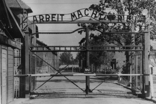 "pbsthisdayinhistory:  June 14, 1940: Auschwitz Opens On this day in 1940, the Nazis opened the Auschwitz concentration camp in Poland. Nazi records show that tens of thousands of Jews from German-occupied territories were sent to Auschwitz to be executed each month. Two Auschwitz prisoners, Rudolph Vrba and Alfred Wetzler, were determined to expose the horrors of the Nazi genocide and stop the killing factories forever. To do that, they became the first to escape from the heavily-guarded camp. Read about their escape path and watch Secrets of the Dead's ""Escape from Auschwitz.""  Above Image: This map, drawn from Rudolf Vrba's own account of his escape, traces the two friends' journey, from Auschwitz to the safety of Slovakia, where they finally revealed the secret purpose of Auschwitz."