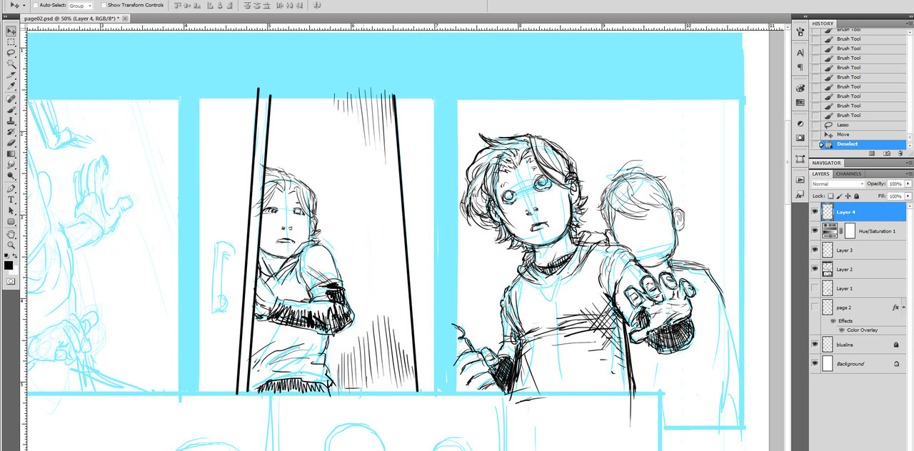 Broken Legacy issue 1 work continues.