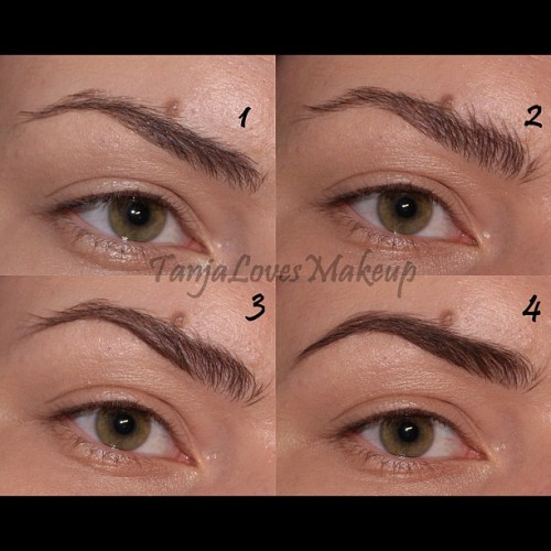 Eyebrow routine #eyebrows #brows #makeup #tutorial (Taken with Instagram)