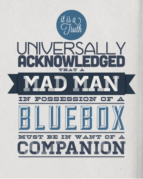 theotherausten:  Doctor Who + Jane Austen