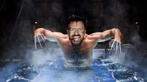 Something I made awhile back, Ricky Gervais as Wolverine. I think he's the only person who could conceivably portray a mutant who's wit is sharper than his Adamantium claws. Let's go bub!