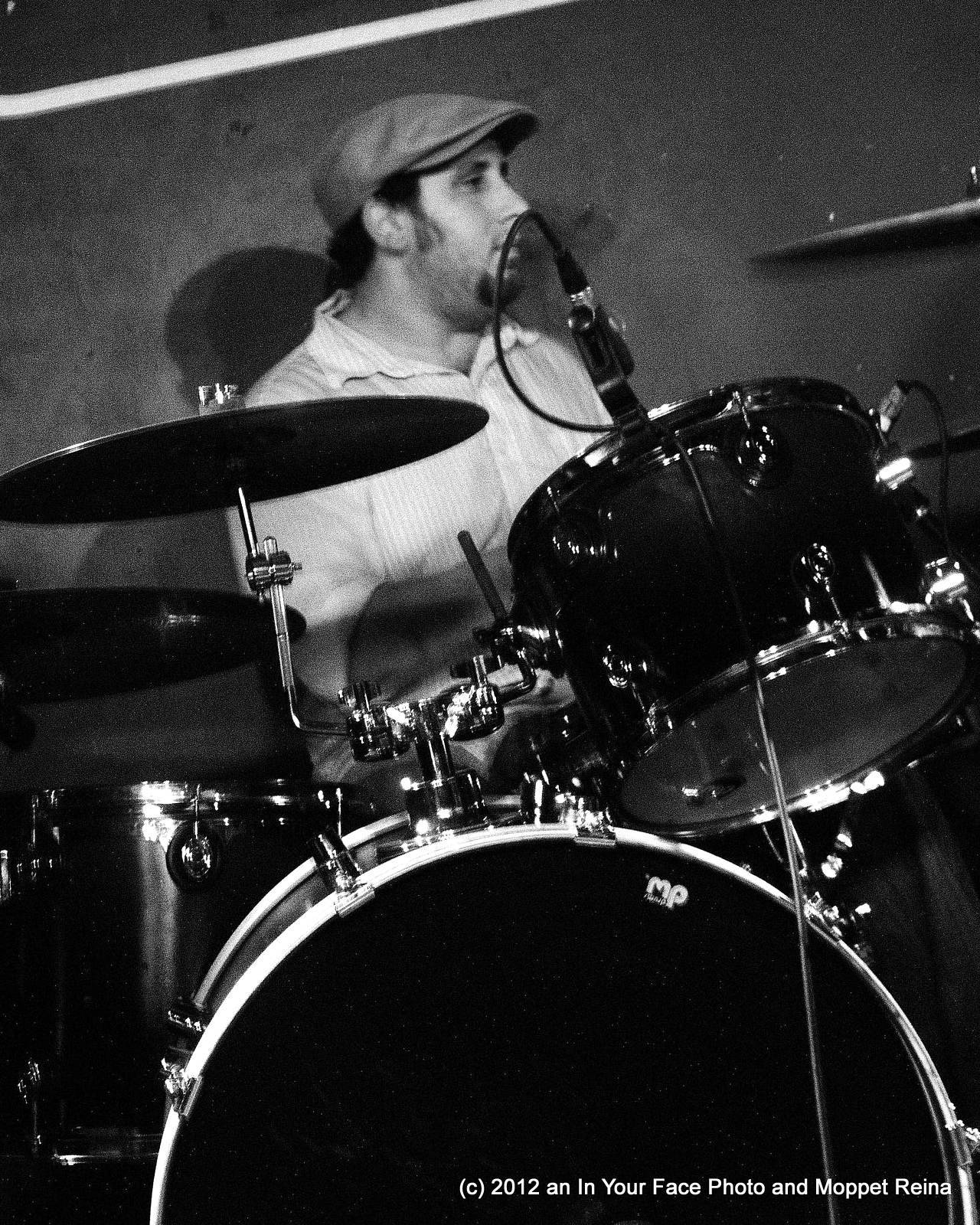 mike, drummin