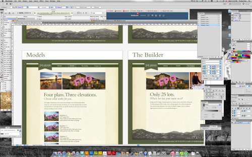 current project - The Ledges at Somersett Website