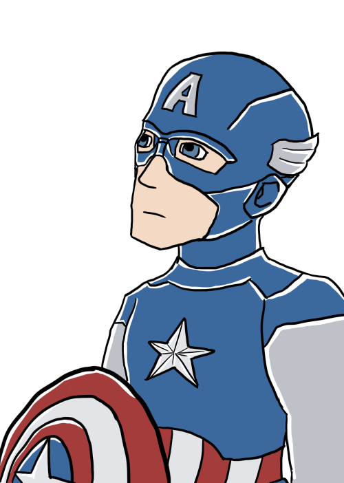 "Finally got around to seeing The Avengers. It's funny that Captain America is my favorite among them, considering uber-patriotism usually bugs me and the very idea of a ""Captain America"" is about as uber-patriotic as you can get. But he's just SO AWESOME."