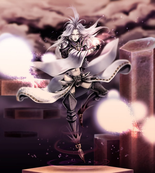 Ultimate style inspiration! Kuja, from Final Fantasy 9/Dissidia.  Michael xo