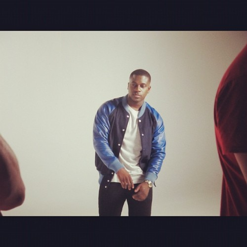 On set of my new single 'Top Of The World' ft @professorgreen & @tawiahmusic, can't wait for you guys to see it! (Taken with Instagram)