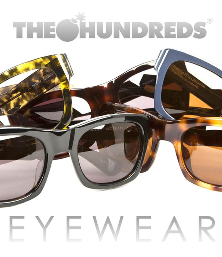 The Hundreds Eyeware, The Hundreds HQ, Los Angeles, 2012.