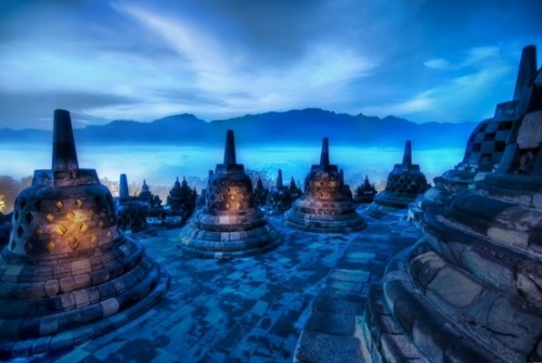The Beating Hearts of the Buddhas - Borobudur, Indonesia