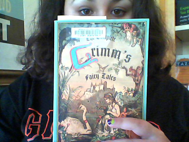 "sassy-starfish:  Look what I just checked out! ""The Complete Grimm's Fairy Tales""."
