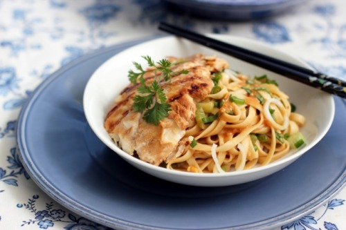 (via Sesame Noodles with Grilled Cod | Cooking in Sens)
