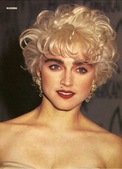 "January 26, 1987-  Madonna makes a surprise appearance at the 14th annual American Music Awards at the Shrine Auditorium, Los Angeles, CA, to accept her award for Favorite Pop/Rock Female Video Artist (""Papa Don't Preach"")."