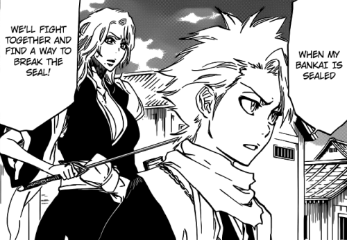 datmemph:  HItsugaya & Matsumoto - We'll Fight Together