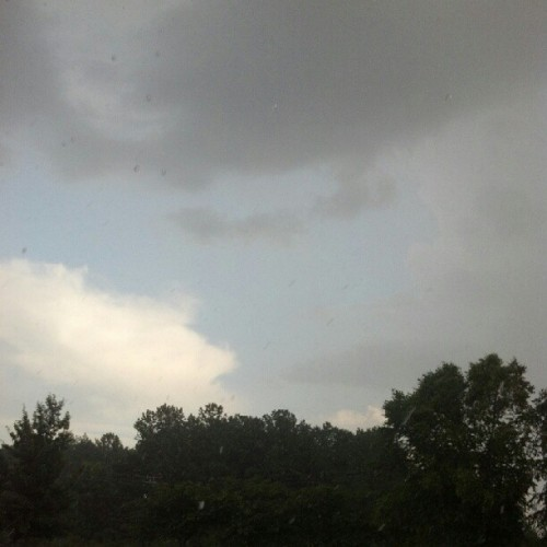 Only in georgia half raining and half sunny  (Taken with Instagram)