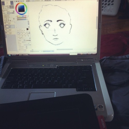 I've discovered the power of the tablet  (Taken with Instagram)