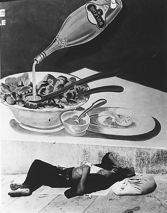 cavetocanvas:  Brassaï, A Vagrant Sleeping in Marseille, 1935