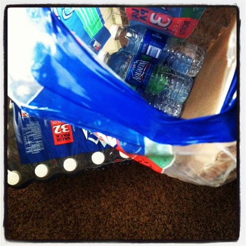 I go thru #water .. #aquafina #hydrate (Taken with Instagram)