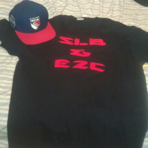 Hmu for a SLB & EZC tee we got them in white and black too! #SLBnEZC #TeamEZC #getchasum #TLBcomingSOON #Swag #instadope  (Taken with Instagram)