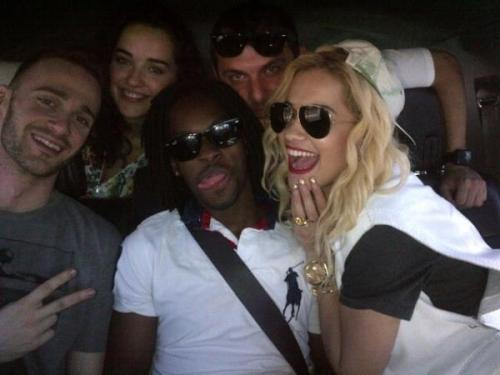 fuckyesritaora:  Rita and her band road trip to San Fran.! via @RitaOraCanada