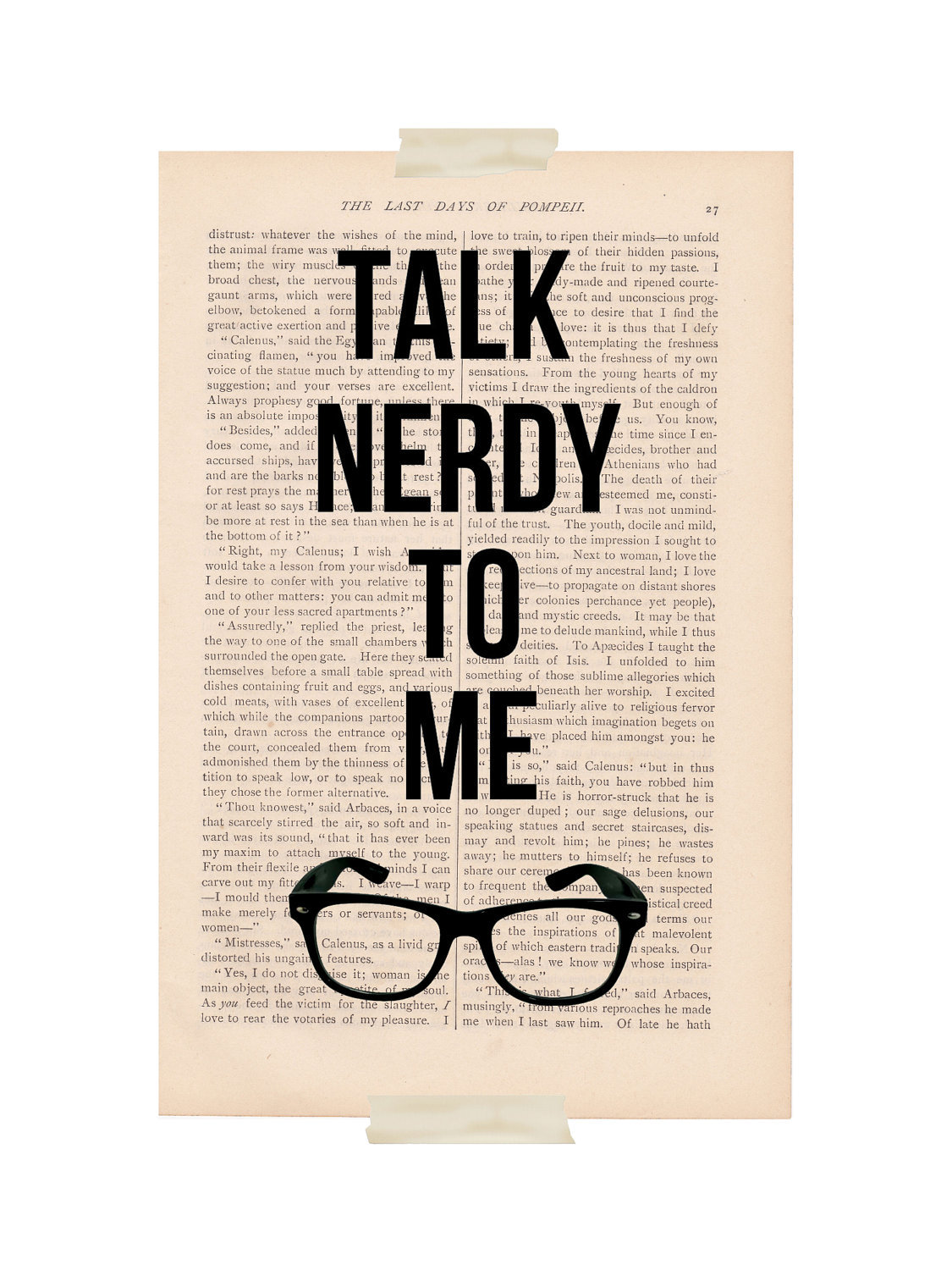 talk NERDY to me :)