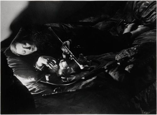 cavetocanvas:  Brassaï, Woman Smoking Opium, 1931