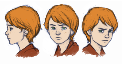 Rough sketches of Colin Wilkes.