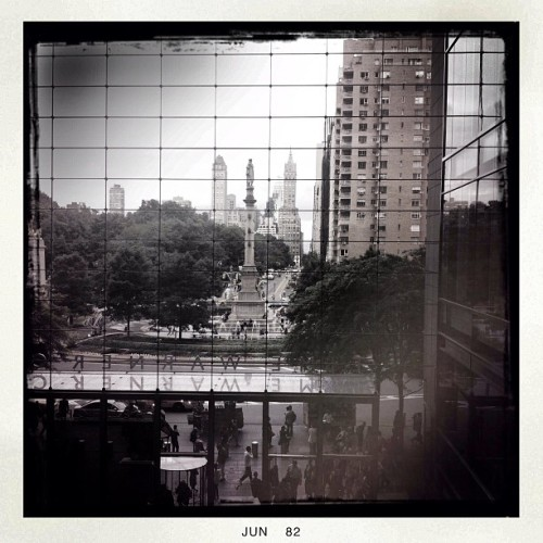 Columbus Circle, NYC (Taken with Instagram)