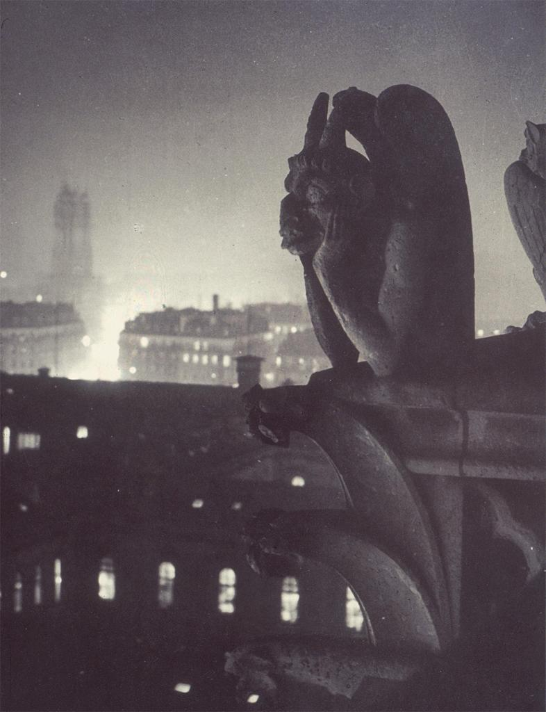 cavetocanvas:  Brassaï, Paris from Notre-Dame Cathedral, 1933