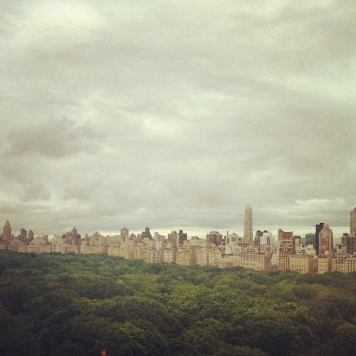 Central Park and Upper East Side (Taken with Instagram)
