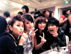 S.H.E. and Rainie