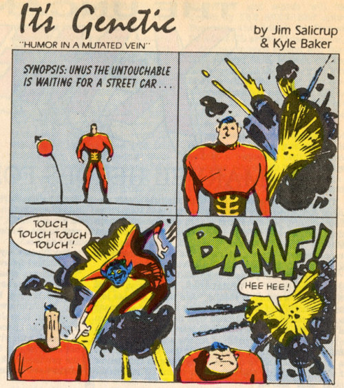 awyeahcomics:  Unus the Untouchable by Kyle Baker